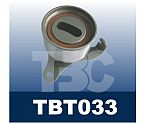 Automobile tensioner pulley bearings