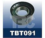 Auto tensioner pulley bearing